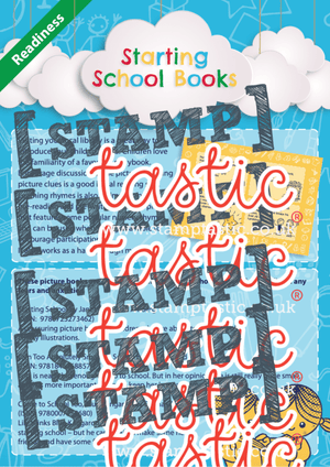 Books About Starting School - stamptastic-uk