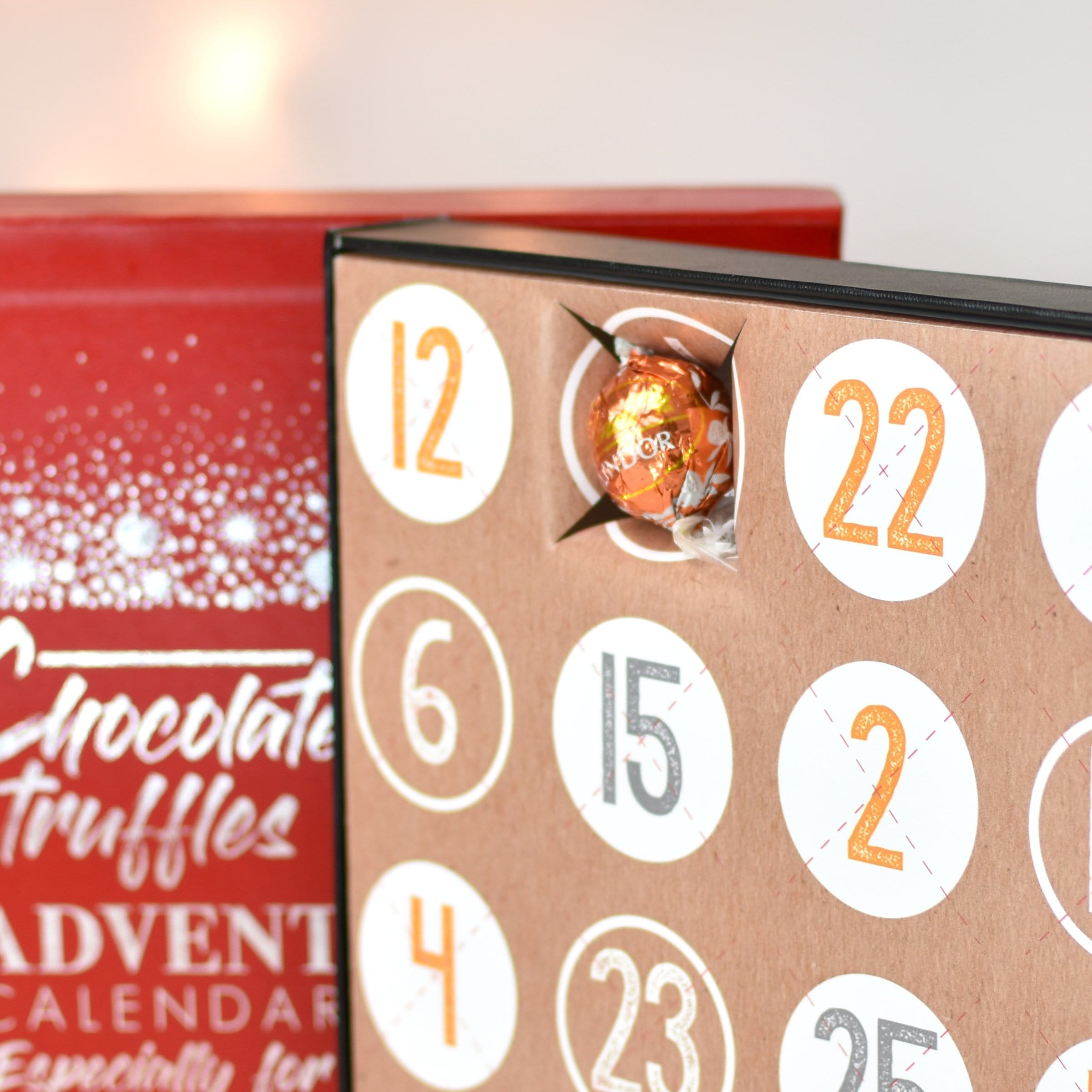Personalised Truffles Advent Box - stamptastic-uk
