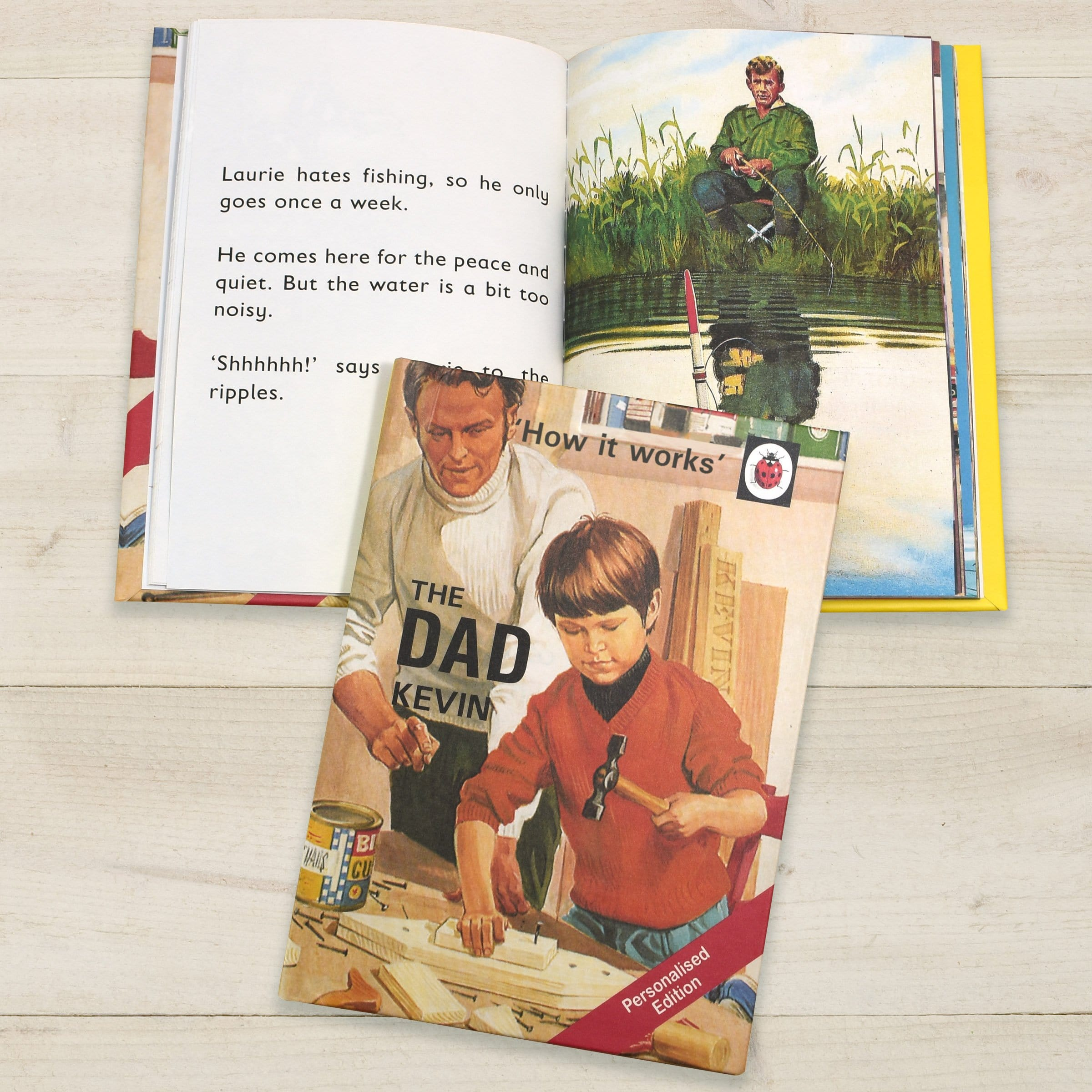 The Dad: A Ladybird Personalised Book - stamptastic-uk
