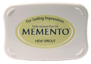 Memento New Sprout Inkpad - stamptastic-uk