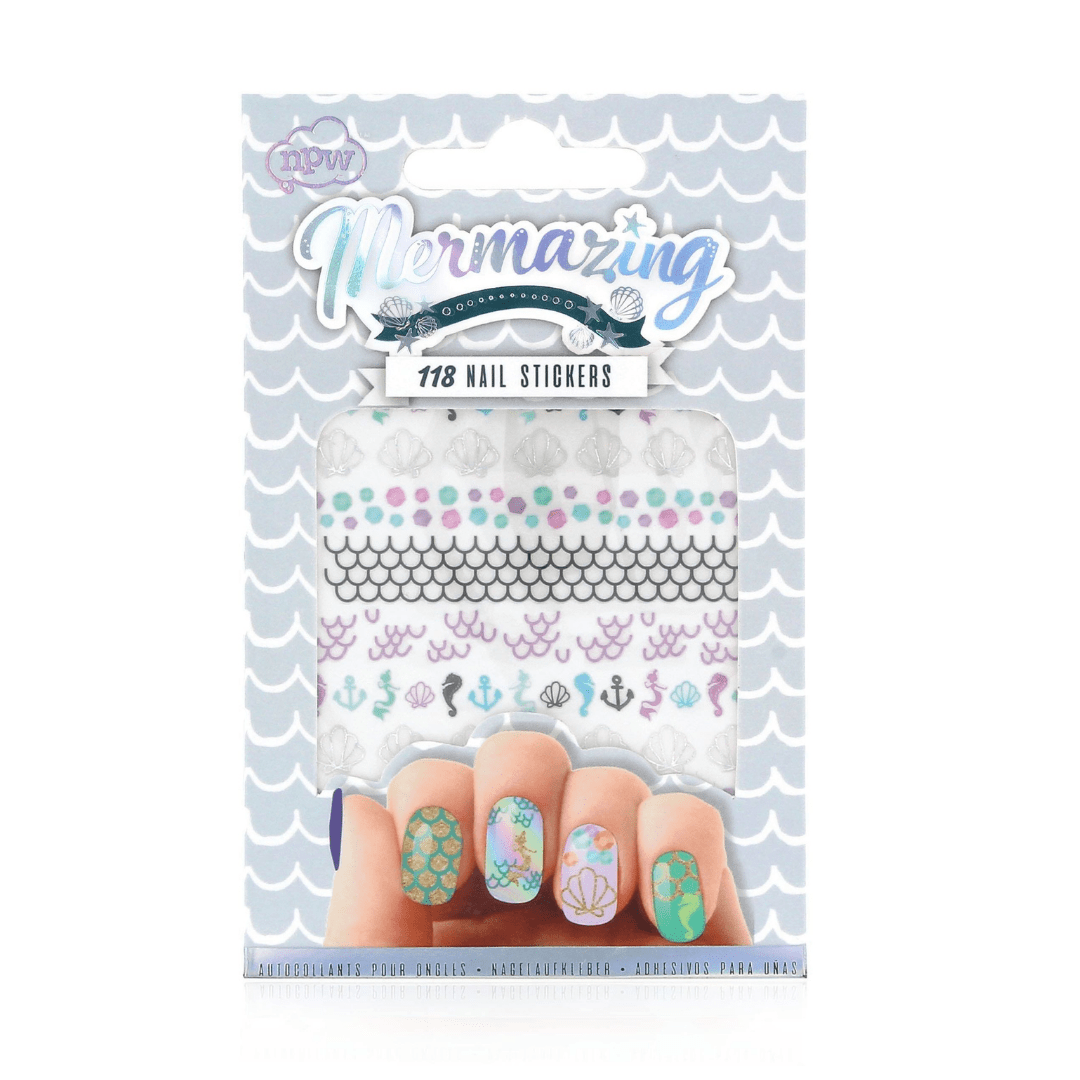 Mermaid Nail Stickers - stamptastic-uk