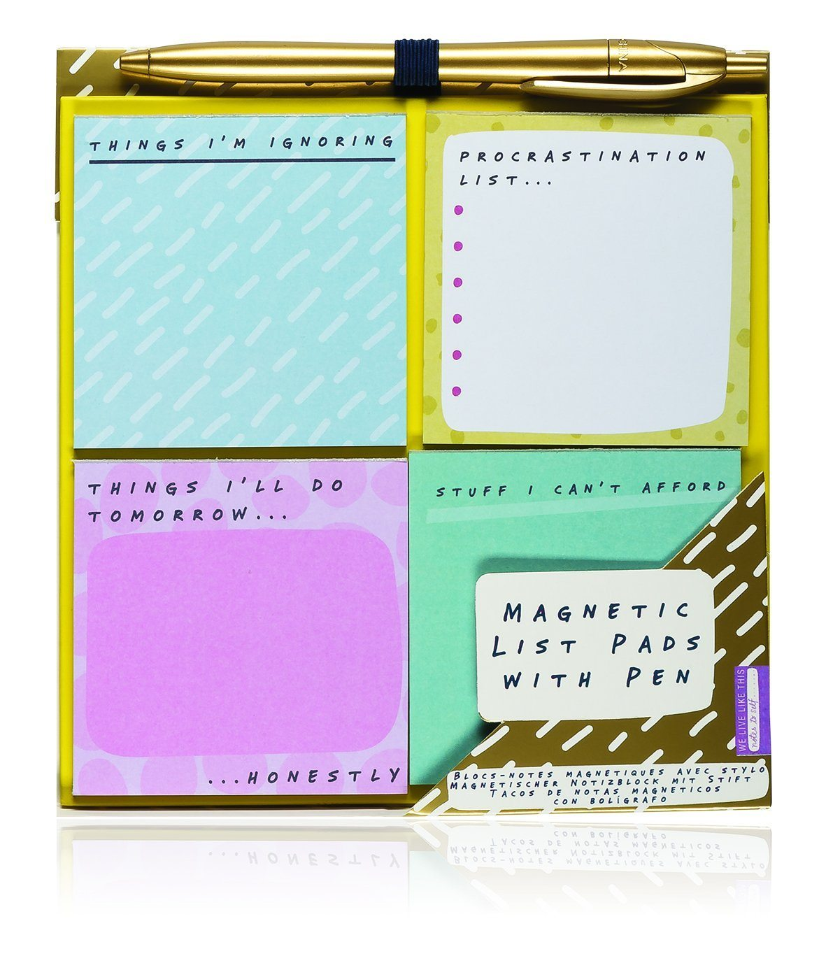 Notes To Self - List Pads - stamptastic-uk