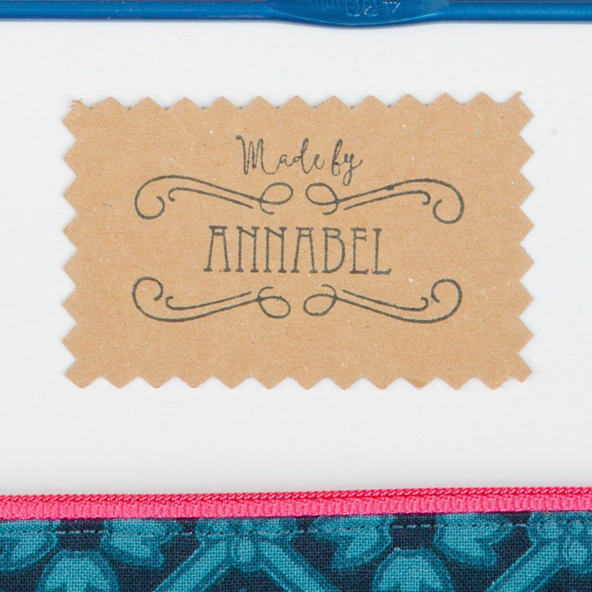 """Made By"" Elegantly Simple Stamp"