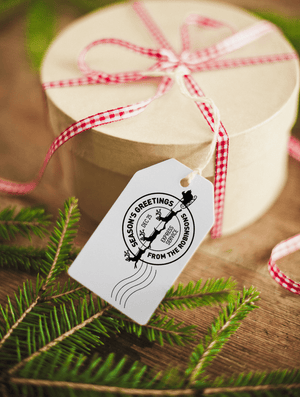 Personalised North Pole - Special Delivery - stamptastic-uk