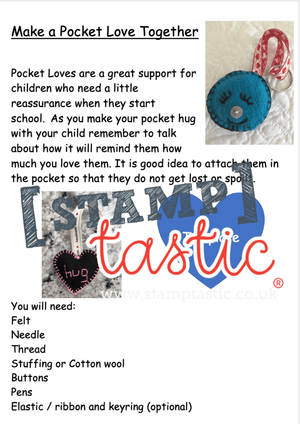 Starting School Free Resource: Pocket Hearts - stamptastic-uk