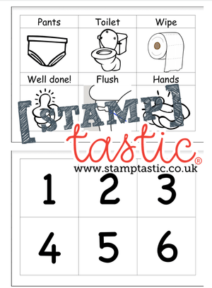 Starting School Free Resource: Using The Toilet Independently - stamptastic-uk