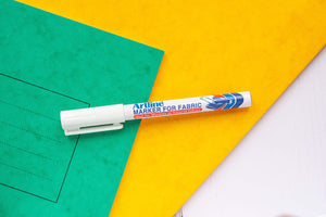 White Fabric Pen - stamptastic-uk