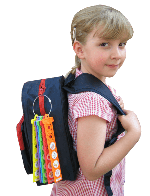 Tom Tag - I can do it – pack my bag for school! - stamptastic-uk