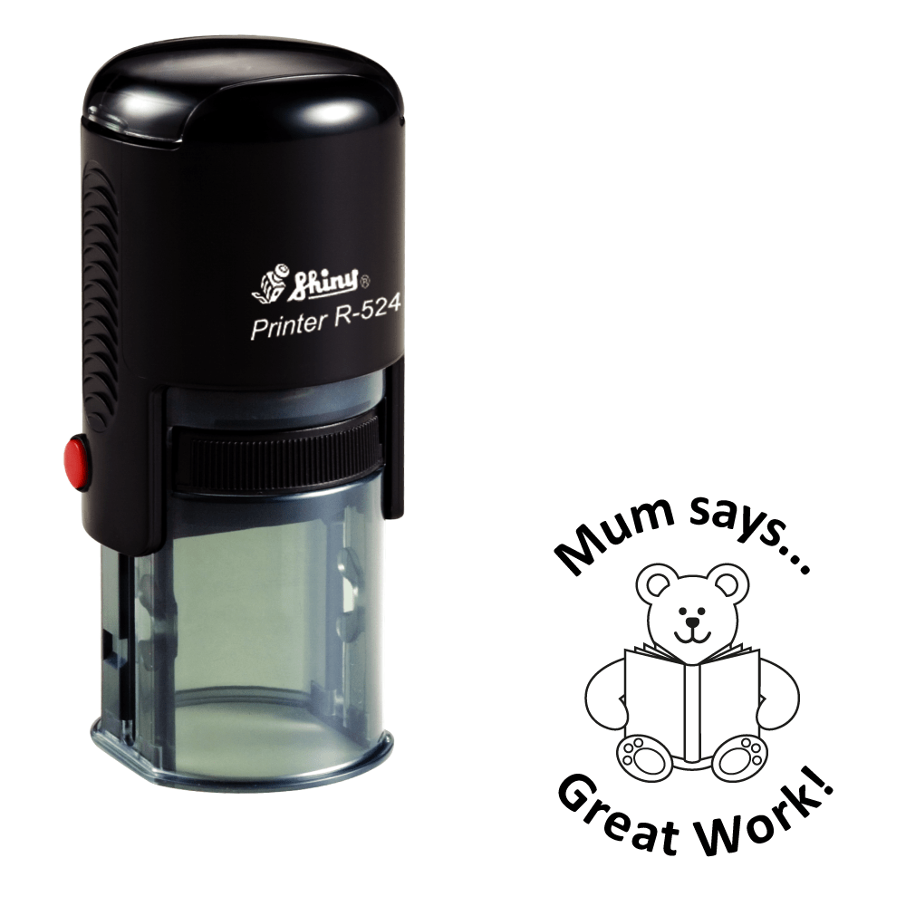 Self Inking Homeschooling Stamp - stamptastic-uk