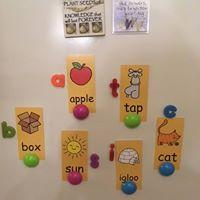 Alphabet keyring of letters - stamptastic-uk