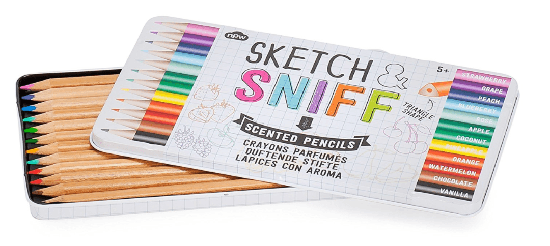 Sketch & Sniff Scented Pencils - discontinued - stamptastic-uk