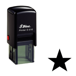 Star Loyalty Card Self-inking Rubber Stamp - stamptastic-uk