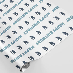 Marching Elephants - stamptastic-uk