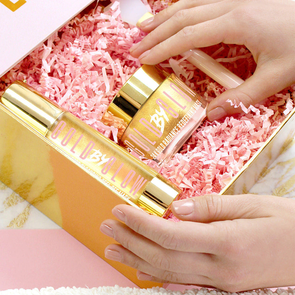 24K Gold Glow Duo Facial Gift Set