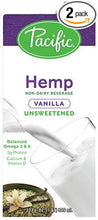 Unsweetened Hemp Milk- Vanilla 32OZ