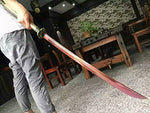 Niger Sabre/High carbon steel blade/LeatherScabbard/Alloy fittings/Length 48""