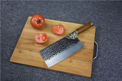 Kitchen knife,Handmade chinese cleaver,5Cr15MOV steel - Chinese sword shop