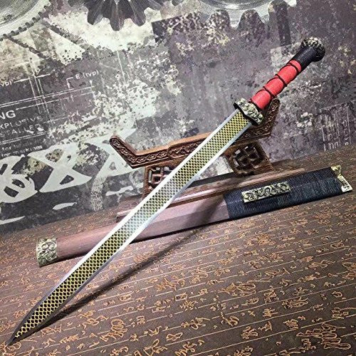 Chibi sword/High carbon steel/Rosewood scabbard/Alloy fittings/Length 30