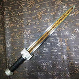 Chinese sword/Dagger/ruyi jian/High carbon steel blade/Alloy fitting/Length 19""