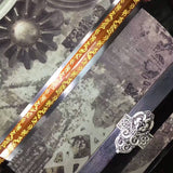 "Han sword/High carbon steel eight surface blade/ Alloy fittings/Length 39"" - Chinese sword shop"