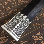 Han sword/High carbon steel eight surface blade/ Alloy fittings/Length 39""