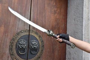Tiger sword,Handmade,High carbon steel blade,Rosewood - Chinese sword shop