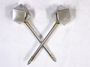 Double Hammer/Stainless steel/Training equipment/China kung fu - Chinese sword shop