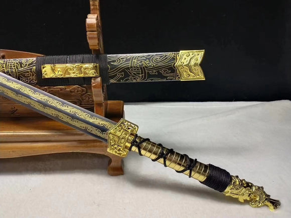 Red Cliff sword,Medium carbon steel blade,Chinese style gifts - Chinese sword shop
