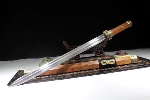 Jian sword,Handmade,Folding steel blade,Full tang - Chinese sword shop