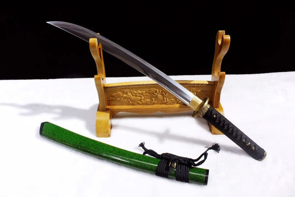 Wakizashi,Japanese sword,Hand forged Damascus steel blade - Chinese sword shop