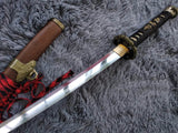 Nihontou Tachi,High carbon steel Clay temper,Rosewood,Alloy - Chinese sword shop