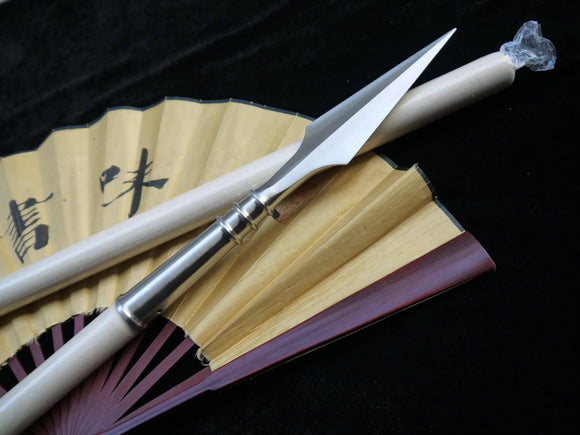 Wu shu Spear/Spears/Stainless steel/Wax rod/Chinese martial arts equipment - Chinese sword shop
