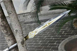 Ray spear,High manganese steel Spearhead,Hardwood rod - Chinese sword shop