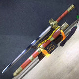 jian sword,High carbon steel blade,Redwood