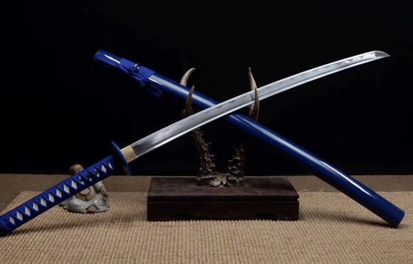 Samurai Sword Forged Medium Carbon Steel Blade Kendo