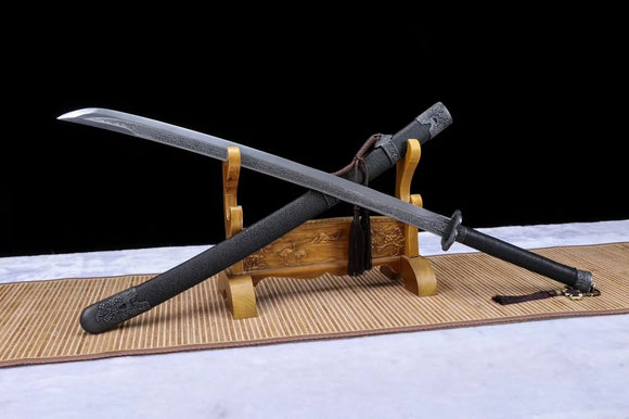 Broadsword,Qing dao(Forged High Carbon Steel Blade) Handmade Art - Chinese sword shop