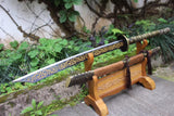 Broadsword,Handmade(High carbon steel blade,Alloy handle)Handmade art - Chinese sword shop