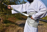 Tang dao sword,Handmade(High carbon steel blade,Brass fittings)Full tang