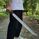 Nepal Machete,Forged High Carbon Steel Blade - Chinese sword shop
