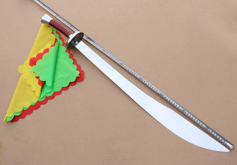 Martial arts single knife,Spring steel blade,Hardwood - Chinese sword shop