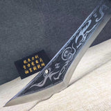 Guandao,Kwan Dao(High carbon steel blade)Hand Forged - Chinese sword shop