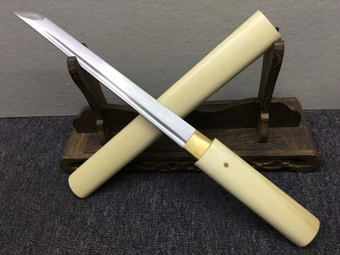Katana,Tanto,Medium carbon steel blade,Hardwood,Full tang - Chinese sword shop