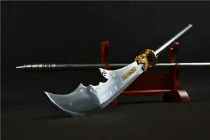"Guan dao,Kwan Dao(High manganese steel blade)Length 84"" - Chinese sword shop"