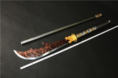 Kwan Dao,Guan dao,High carbon steel color blade - Chinese sword shop