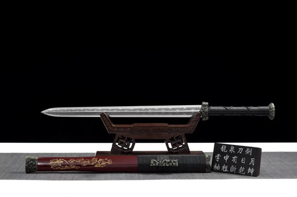 Chibi jian,Handmade High carbon steel blade,Alloy - Chinese sword shop
