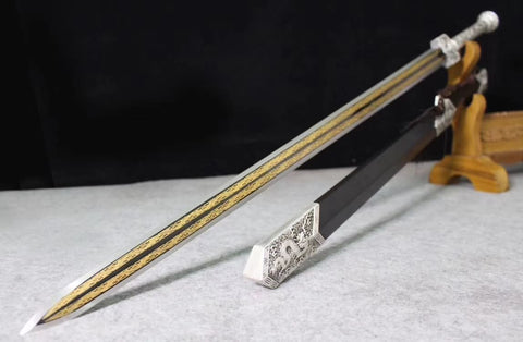 Han jian,Alloy scabbard,Chinese sword
