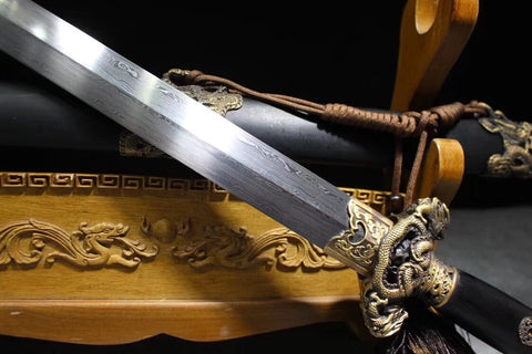 jiansword,Damascus steel,Chinese sword