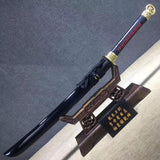 Cut horse broadsword,High manganese steel,Wood,Alloy