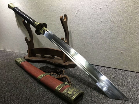 Kangxi dao,Chinese sword,burn blade