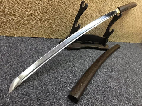 "Katana,High carbon steel burn blade,Rosewood scabbard,Length 39"" - Chinese sword shop"